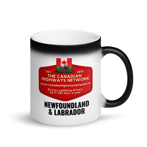 Colour Changing NEWFOUNDLAND & LABRADOR Mug