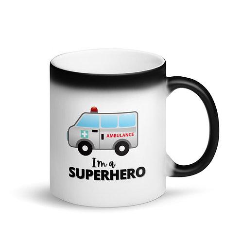 COLOUR CHANGING Mug - SUPERHERO - AMBULANCE