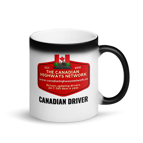 Colour Changing CANADIAN DRIVER Mug