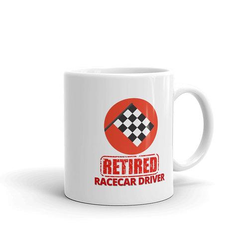 RETIRED RACECAR DRIVER Mug