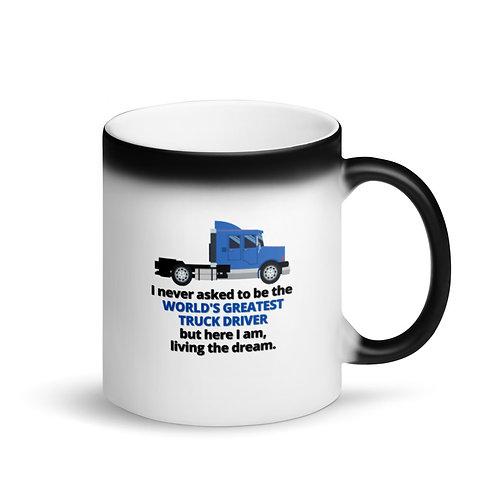 WORLD'S GREATEST TRUCKER - Colour Changing Mug