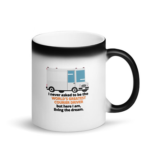WORLD'S GREATEST COURIER DRIVER - Colour Changing Mug