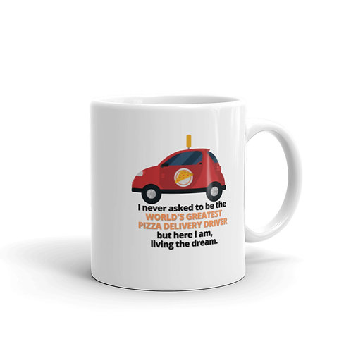 WORLD'S GREATEST PIZZA DELIVERY DRIVER Mug