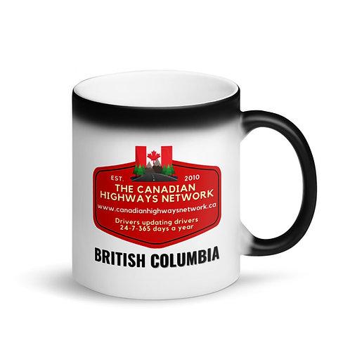Colour Changing BRITISH COLUMBIA Mug