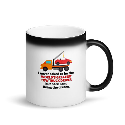 WORLD'S GREATEST TOW TRUCK DRIVER 2 - Colour Changing Mug