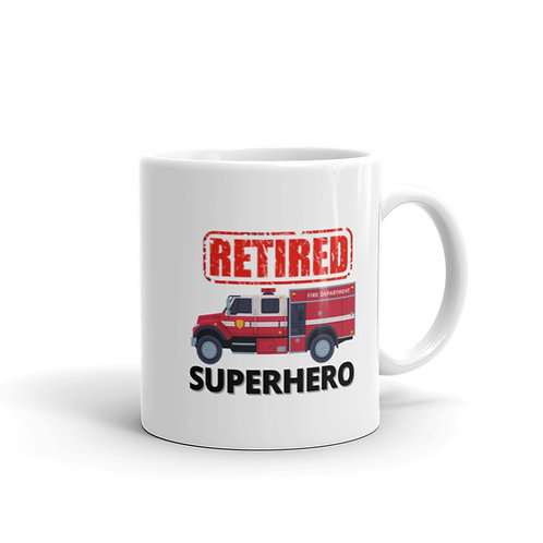 SUPERHERO - RETIRED FIREFIGHTER Mug