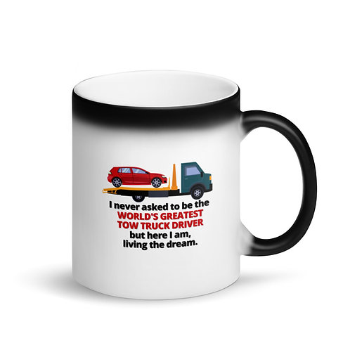 WORLD'S GREATEST TOW TRUCK DRIVER 3 - Colour Changing Mug
