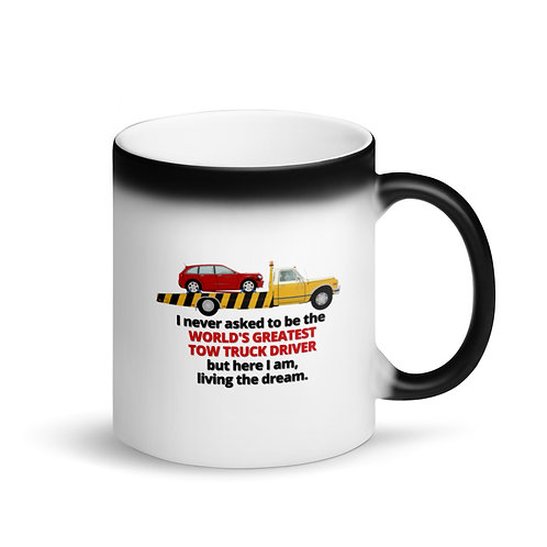WORLD'S GREATEST TOW TRUCK DRIVER 4 - Colour Changing Mug