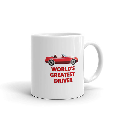 WORLD'S GREATEST DRIVER Mug