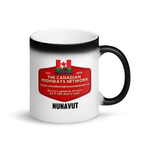 Colour Changing NUNAVUT Mug