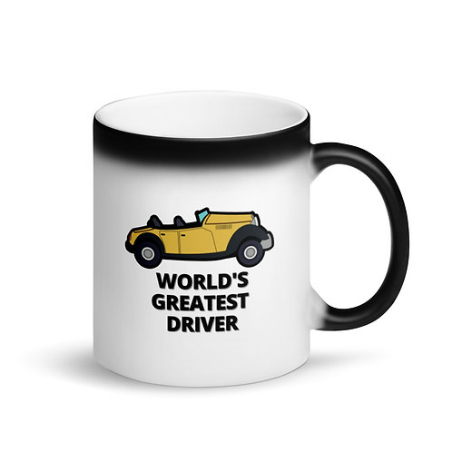 WORLD'S GREATEST DRIVER 4 - Colour Changing Mug
