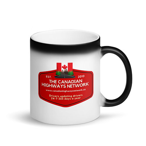 Colour Changing CANADIAN HIGHWAYS NETWORK Mug