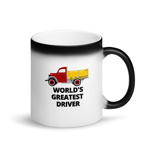 WORLD'S GREATEST DRIVER 8 - Colour Changing Mug
