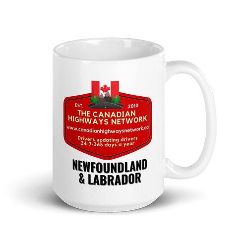 NEWFOUNDLAND & LABRADOR Mug