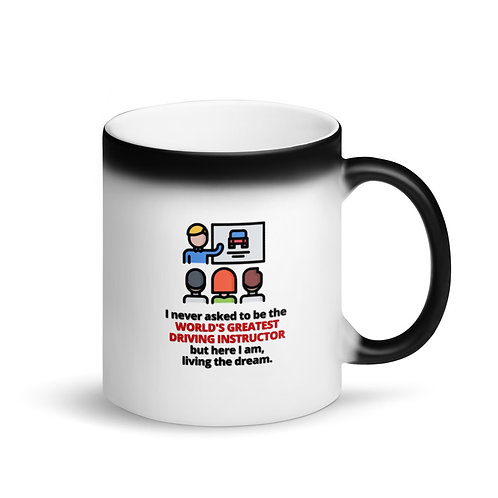 WORLD'S GREATEST DRIVING INSTRUCTOR - Colour Changing Mug