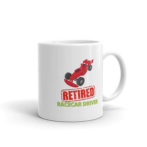 RETIRED RACECAR DRIVER 3 Mug