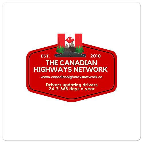 Canadian Highways Sticker