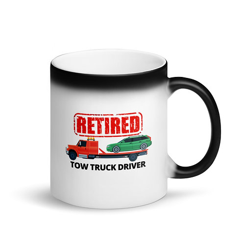 RETIRED TOW TRUCK DRIVER 5 - Colour Changing Mug