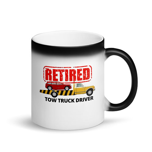 RETIRED TOW TRUCK DRIVER 4 - Colour Changing Mug