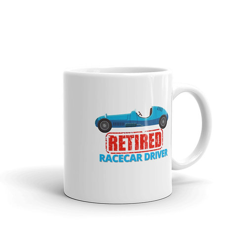RETIRED RACECAR DRIVER 4 Mug