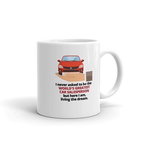 WORLD'S GREATEST CAR SALESPERSON Mug