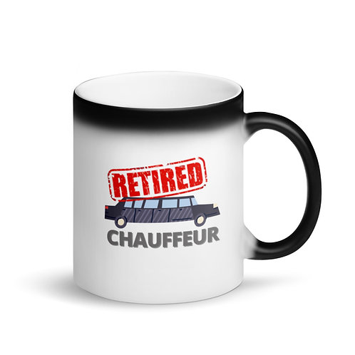 RETIRED CHAUFFEUR - Colour Changing Mug