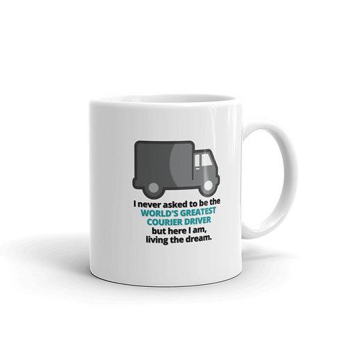 WORLD'S GREATEST COURIER DRIVER Mug