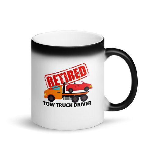RETIRED TOW TRUCK DRIVER 2 - Colour Changing Mug