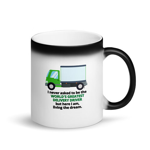 WORLD'S GREATEST DELIVERY DRIVER - Colour Changing Mug