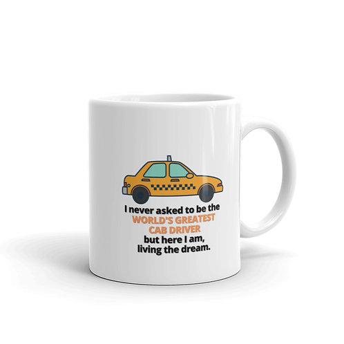 WORLD'S GREATEST CAB DRIVER Mug