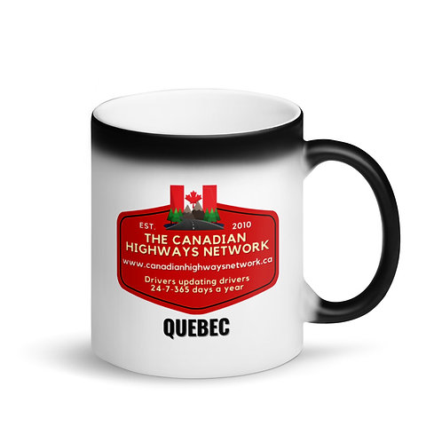 Colour Changing QUEBEC Mug