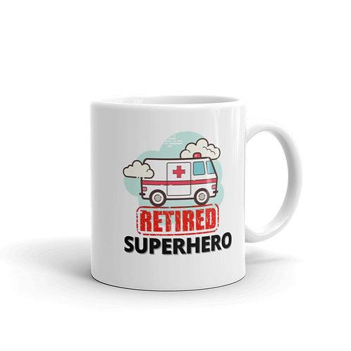 SUPERHERO - RETIRED AMBULANCE Mug
