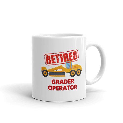 RETIRED GRADER OPERATOR Mug