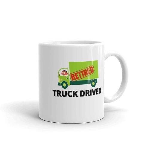 RETIRED TRUCK DRIVER 4 Mug