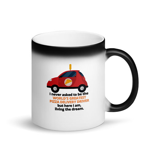 WORLD'S GREATEST PIZZA DELIVERY DRIVER - Colour Changing Mug