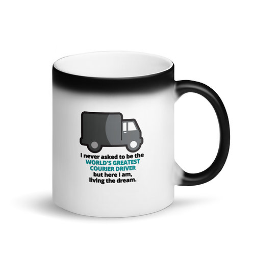 WORLD'S GREATEST COURIER DRIVER 2 - Colour Changing Mug