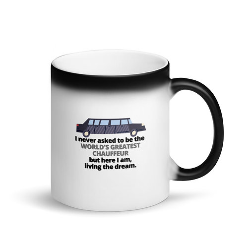 WORLD'S GREATEST CHAUFFEUR - Colour Changing Mug