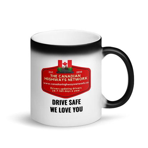 Colour Changing DRIVE SAFE WE LOVE YOU Mug