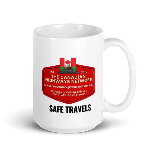 SAFE TRAVELS Mug