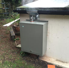 grant wall mounted external oil boiler