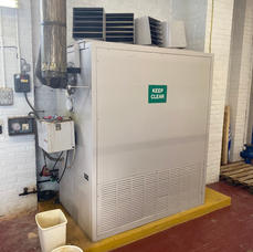 oil warm air heater service
