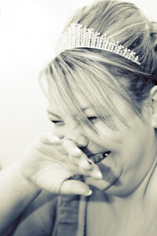 The Bride Giggles