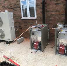 boiler and air sources install