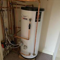 hi-pressure hotwater cylinder upgrade