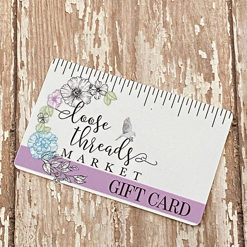Loose Threads Gift Card
