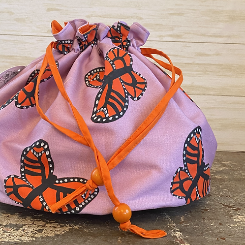 Ditty Bag in Butterflies