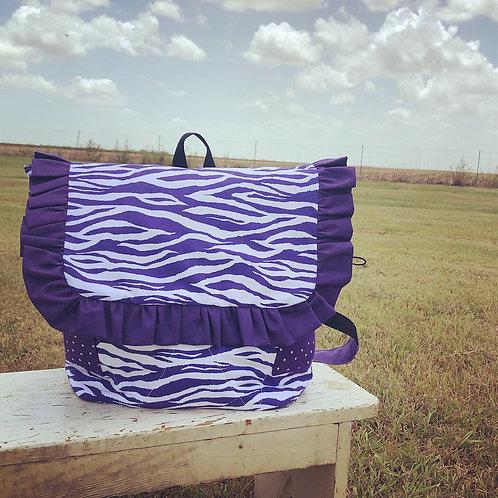 HarleeB in Purple Tiger