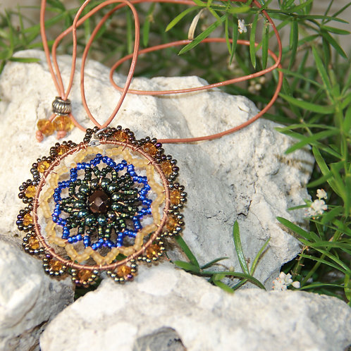 Beaded Starburst Necklace