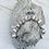 Thumbnail: Light Pink and White Beaded Rosary Bracelet