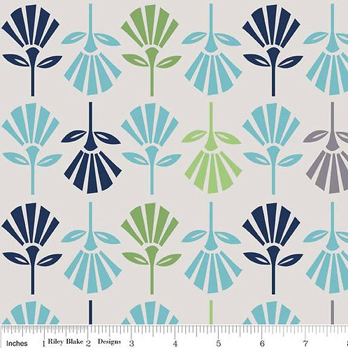 Gracie Flowers Fabric